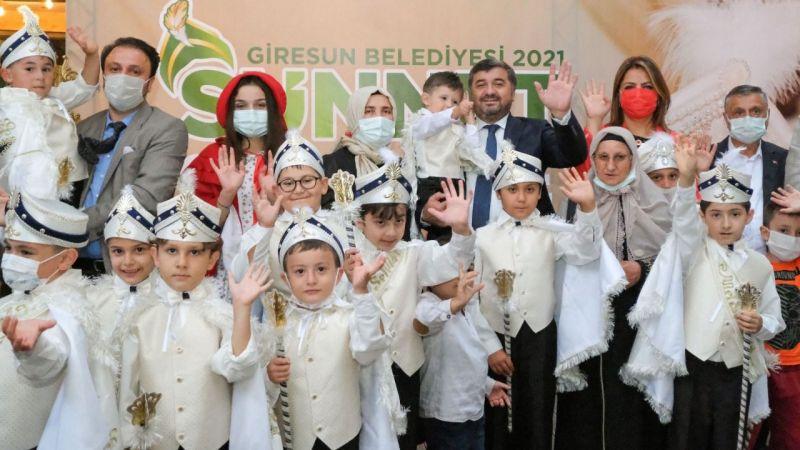 Giresun Belediyesi'nden Sünnet Şöleni
