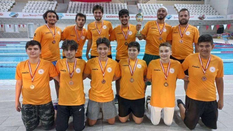 Giresun Gençlikspor Sutopu Takımı 2.Lig'de