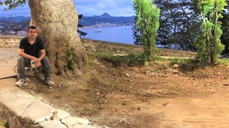 Kale'deki Yapı Yıkıldı