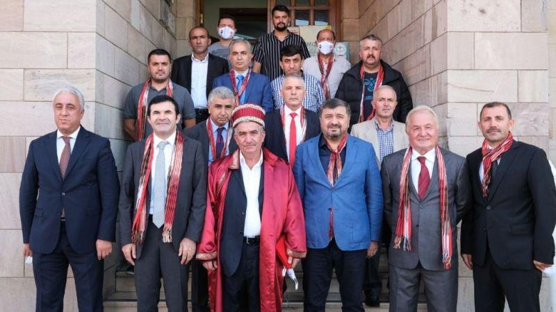 Başkan Şenlikoğlu'na Ahilik Haftası Ziyareti
