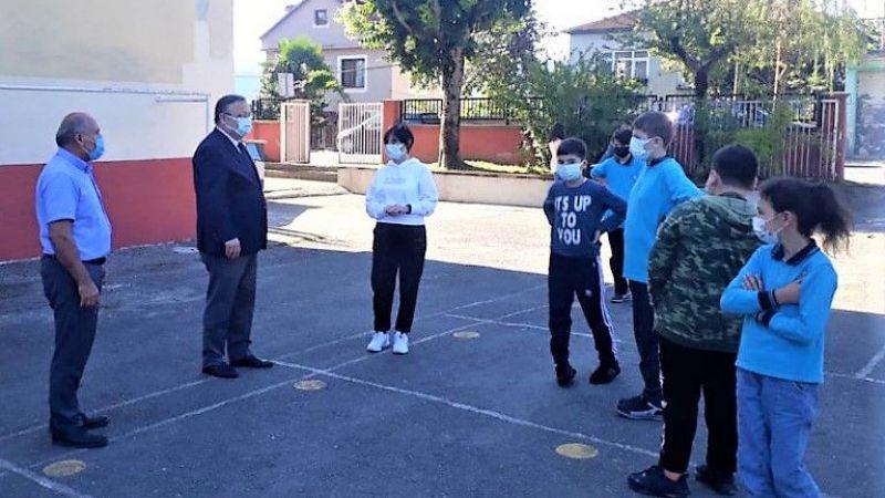 Milli Eğitim Müdürü Tosunoğlu tek tek okulları geziyor
