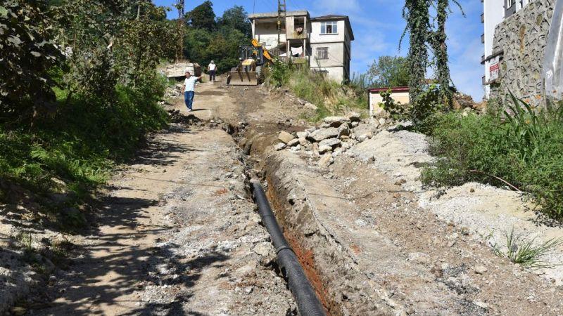 Hasan Tepesi'nin Kanalizasyon Sorunu Çözüldü