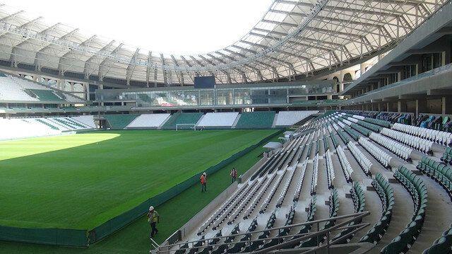 Çotanak Stadı Konya maçına hazır