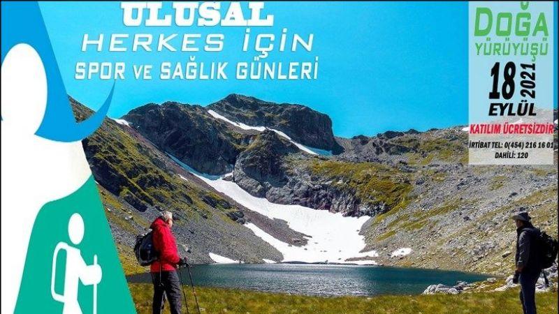 Spor İl Müdürlüğü'nce Karagöl'e bugün 'Doğa Yürüyüşü' düzenlenecek