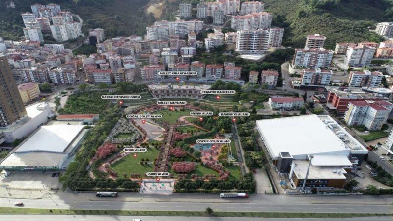 Millet Bahçesi'nin Yapım Sözleşmesi İmzalandı