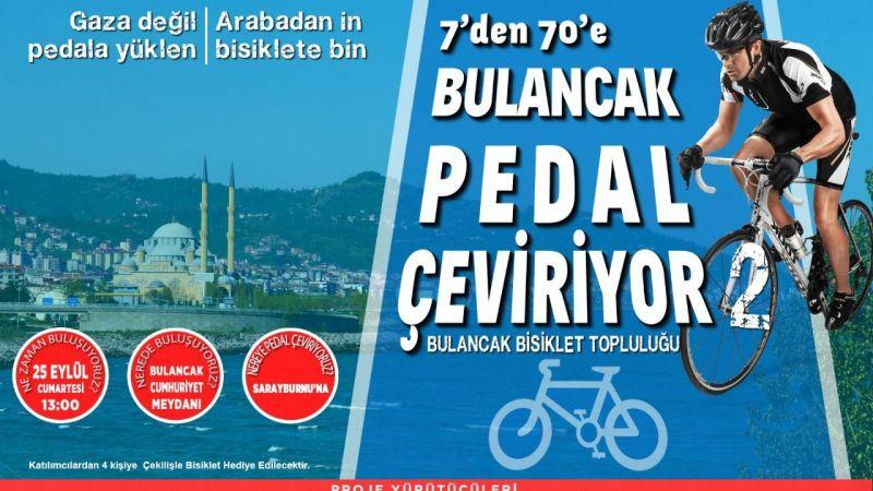 Bulancak Belediyesi'nden Ödüllü Bisiklet Turu