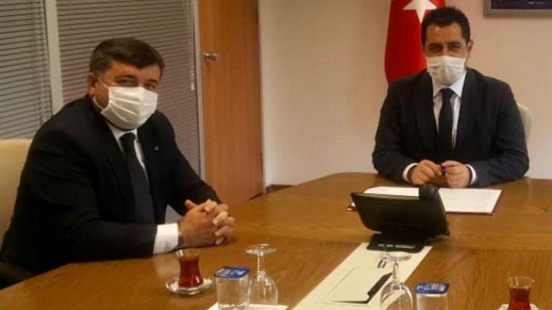 Başkan Şenlikoğlu'ndan Spor Toto'ya Ziyaret