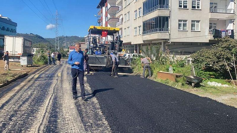 Bulancak Belediyesi'nden asfalt hamlesi