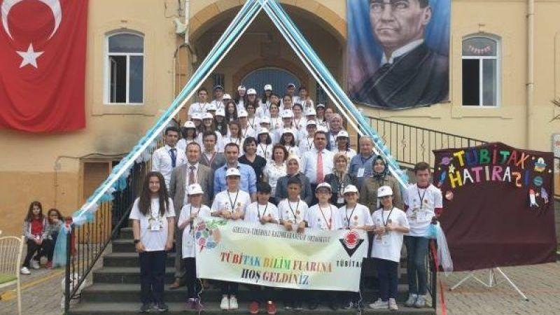 Tirebolu Kazım Karabekir Ortaokulu'nun TÜBİTAK başarısı