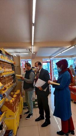 Marketlerde gıda denetimleri sürüyor
