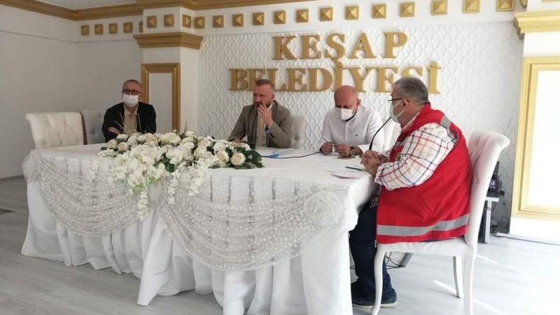 Keşap Belediyesi Ekim Ayı Meclis Toplantısı Yapıldı