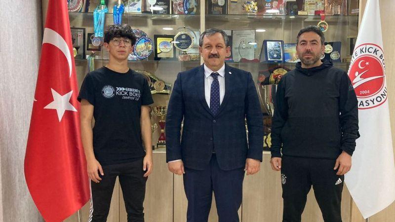 Karaman'dan Başkan Kayıcı'ya ziyaret