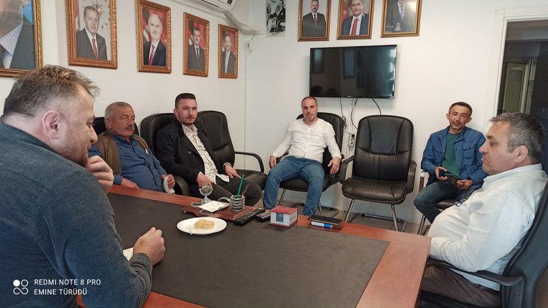 """AK Parti Bulancak İlçe Başkanlığı """"Halk Günü Toplantısı"""" düzenledi"""