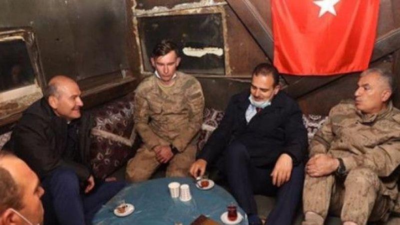 İçişleri Bakanı askerleri ziyaret etti!