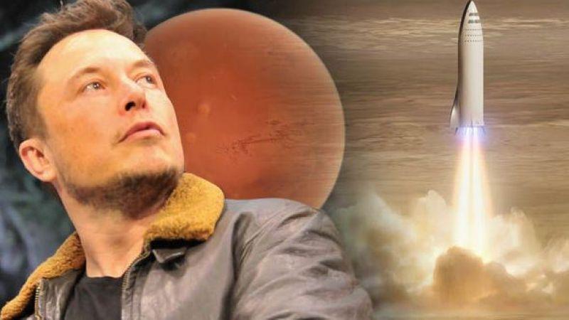 Elon Musk, Mars'ta ilk üssünü nereye kuracağını açıkladı!