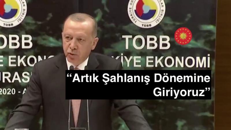 Cumhurbaşkanı Erdoğan: Yüksek Faize Yatırımcıyı Ezdirmemeliyiz