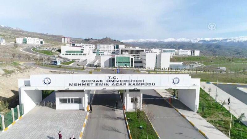 Şırnak Üniversitesi Akademik Personel Alımı