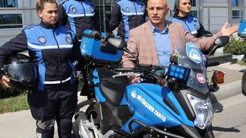 İstanbul Büyükşehir Belediyesi 100 Zabıta Alımı