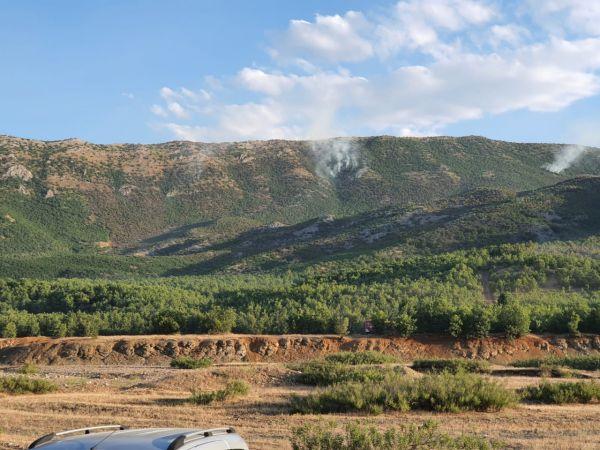 Görese Dağı'ndaki Yangın 5. Gününde...