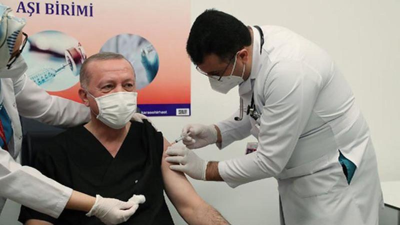 Cumhurbaşkanı Erdoğan hangi aşıyı olduğunu açıkladı!