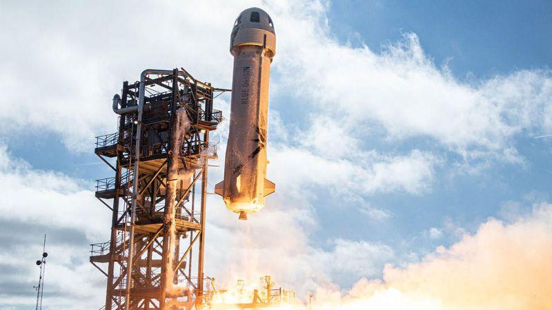 Jeff Bezos ile uzay yolculuğu bileti 28 milyon dolar!