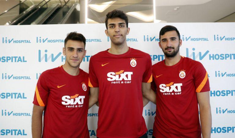 Galatasaray'da 11 futbolcu sağlık kontrolünden geçti