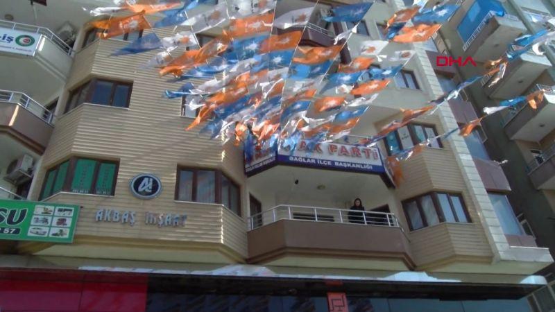 Diyarbakır AKP İl Binasına Saldırı Düzenlendi!