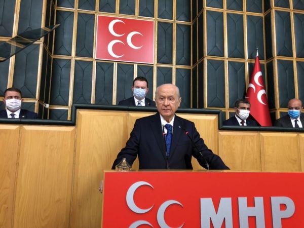 Bahçeli'den gündemi sarsacak açıklamalar: Deniz Poyraz teröristtir, HDP kapatılmalı...