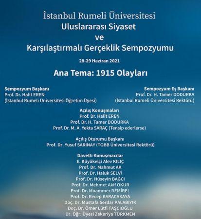 Ermeni Soykırımı 28-29 Haziran'da akademik ortamda tartışılacak..