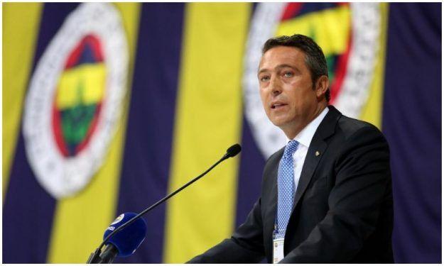 Fenerbahçe yeniden Ali Koç dedi...