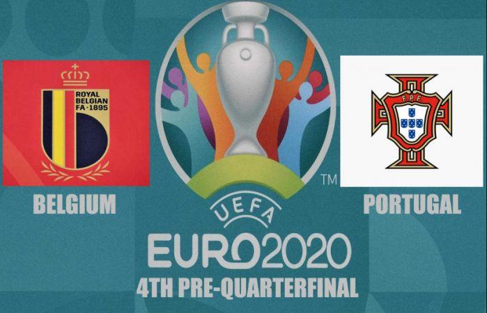 EURO 2020 çeyrek finale kalan dördüncü takım Belçika oldu!