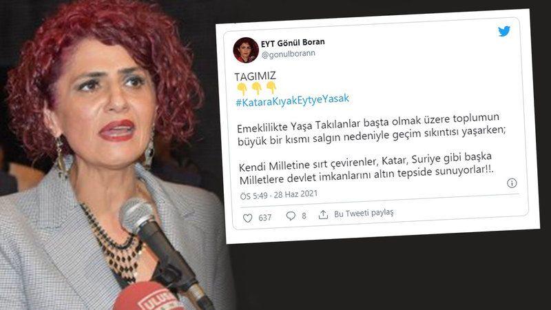 EYT'den Katar eleştirisi! #Katarakıyakeytyeyasak