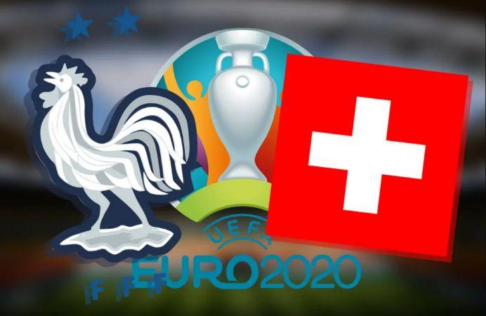 İsviçre çeyrek final vizesini, EURO2020 favorilerinden Fransa'dan aldı...