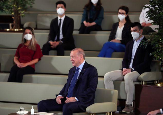 Erdoğan: Kanal İstanbul, Boğaz trafik yoğunluğunu azaltacak!