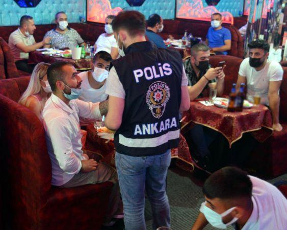 Ankara'da müzikli eğlence yerlerine gece yarısı müzik denetimi! Müzik çalan işletmelere ceza kesildi!