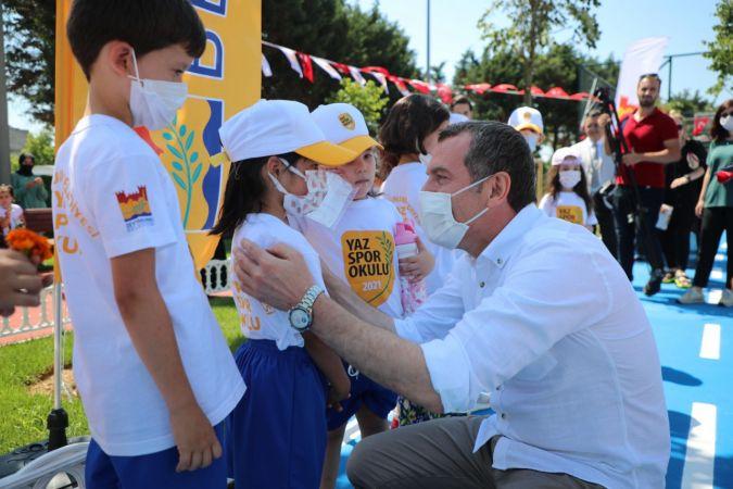 Zeytiburnu Kaykay Parkı açıldı!