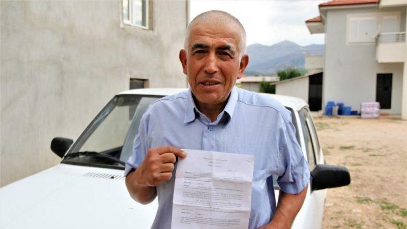 İstanbul'a gitmediği halde onlarca trafik cezası yedi