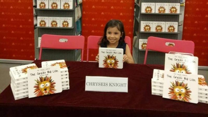 3 yaşında kaleme sarıldı, kitap yazdı