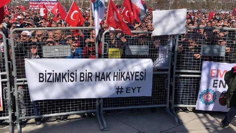 """EYT'lilerden hükümete tek ses! """"Artık dur"""""""