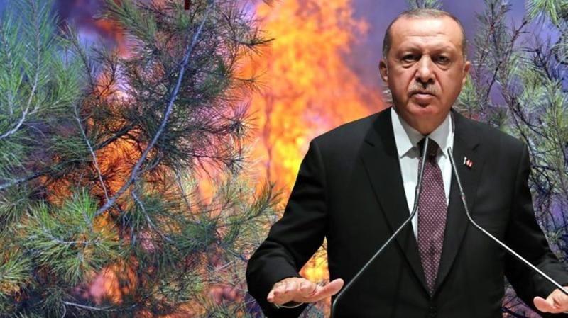 Cumhurbaşkanı Erdoğan'dan yangınlarla ilgili suikast açıklaması!