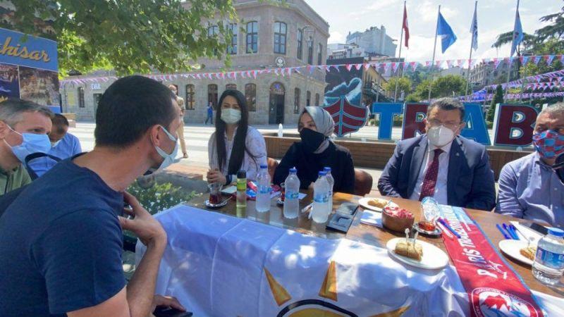 EYT'li vatandaştan AK Partili vekile zor sorular!