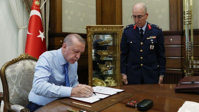YAŞ kararları açıkladı, İşte değişen kuvvet komutanları