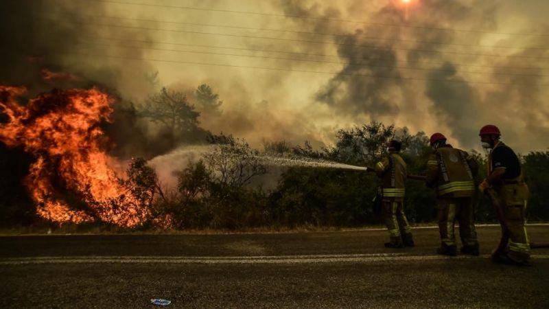 Pakdemirli: Yangının tekrar hareketlenmesini bekliyoruz