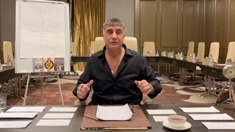 Sedat Peker yeni iddialarını yayınladı