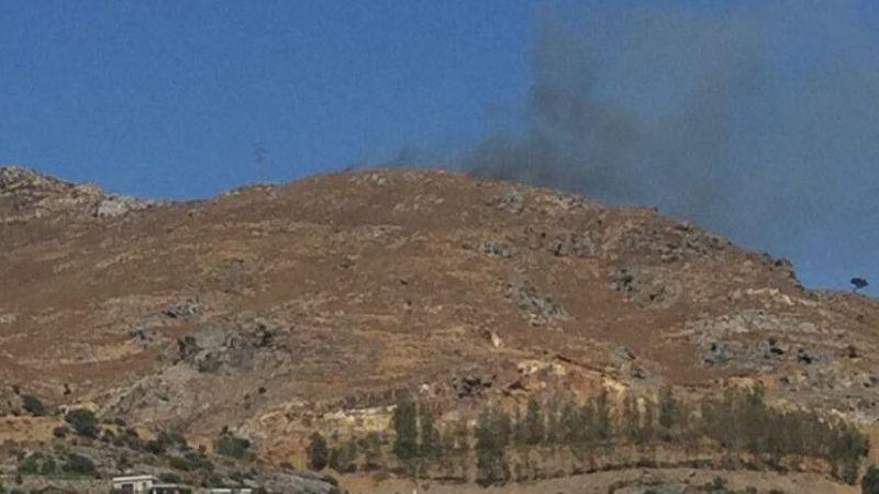 Bodrum'da çıkan yangına orman ekipleri müdahale ediyor!