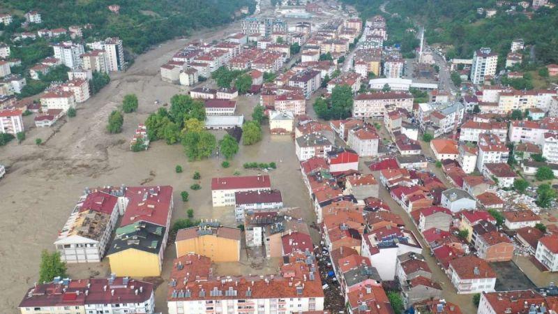 Karadeniz sel felaketi yaşadı