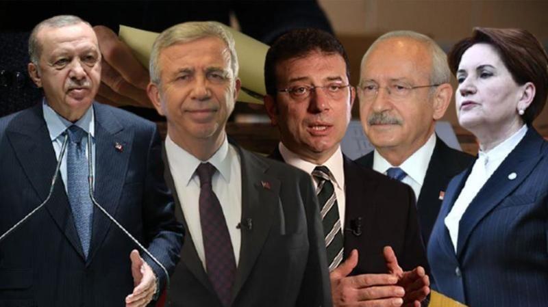 Son seçim anketi yayımlandı! AK Parti'nin oyları eridi