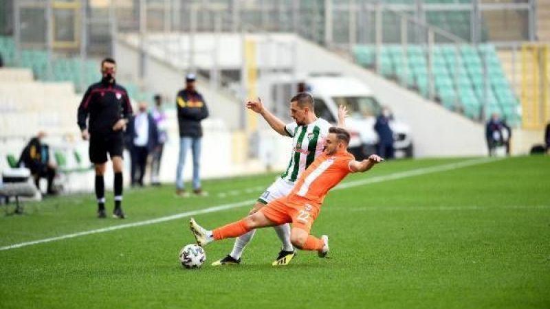 Bursaspor ve Adanaspor maçında iki takım pauanları paylaştı!