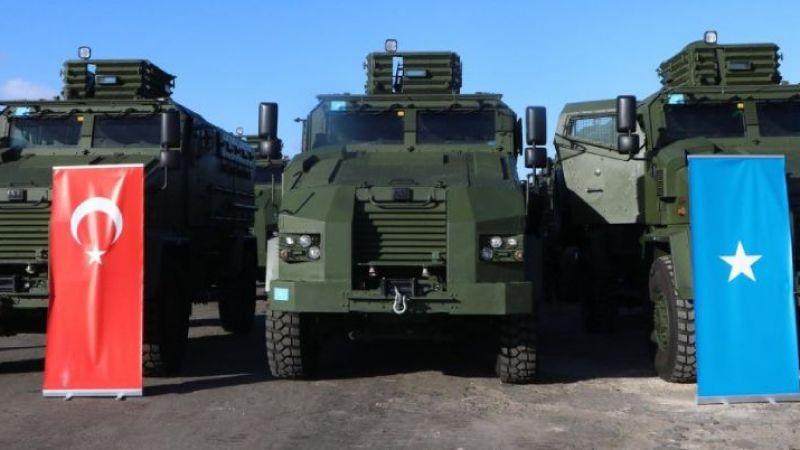 Türkiye, Somali'ye bu kez zırhlı araç hibe etti