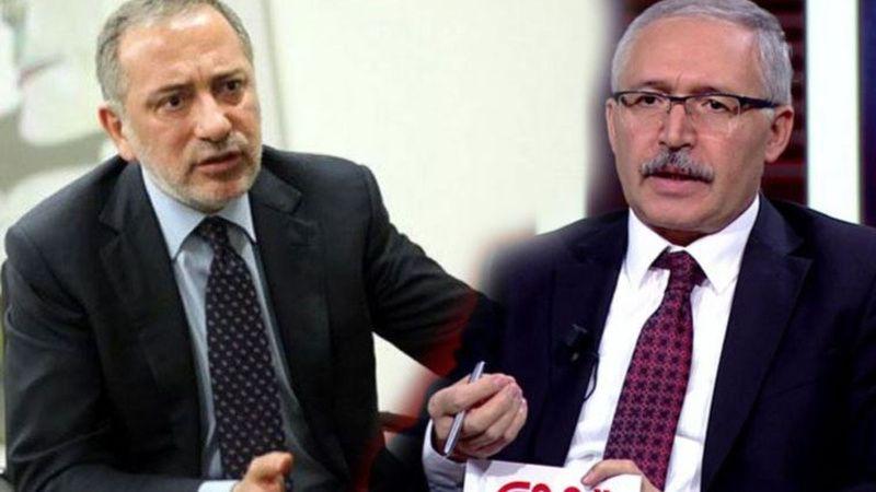 """Fatih Altaylı Abdulkadir Selvi'yi hedef aldı! """"Yalaka"""""""